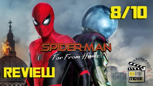 Review : Spider-Man: Far From Home การผจญภัยไกลบ้านของไอ้แมงมุม