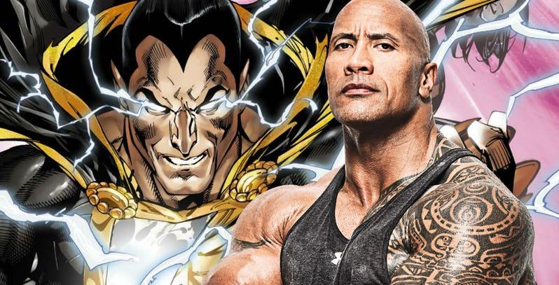 ภาพยนตร์เรื่อง Black Adam ของ DC วางแผนที่จะเริ่มถ่ายทำในปลายปี 2020
