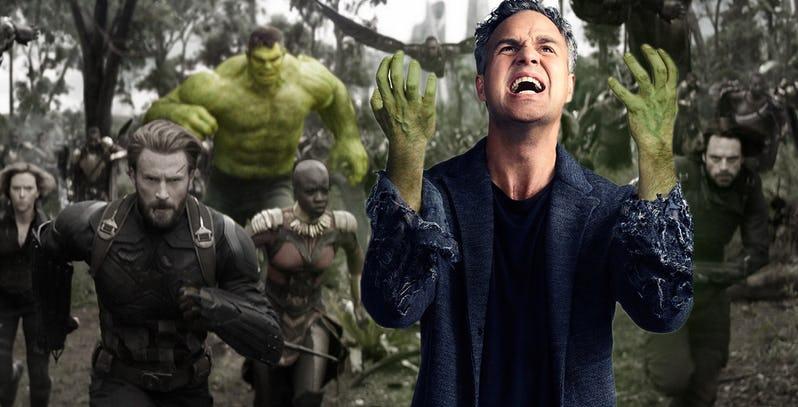 Smart Avengers ของ Hulk: Infinity War