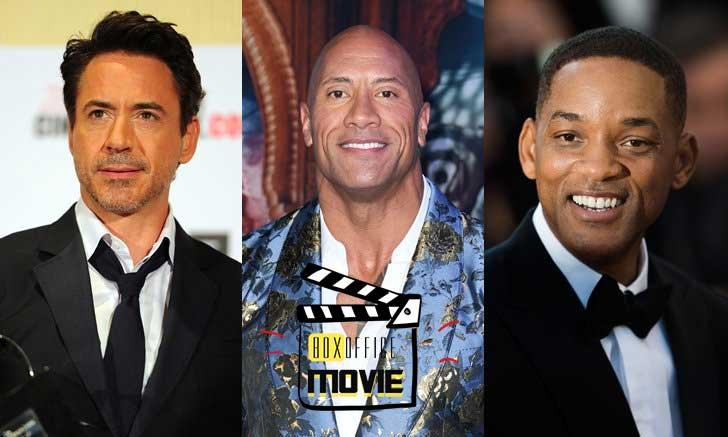 ใครคือนักแสดงที่มีรายรับต่อหนังหนึ่งเรื่อง สูงที่สุดในทศวรรษ 2010s