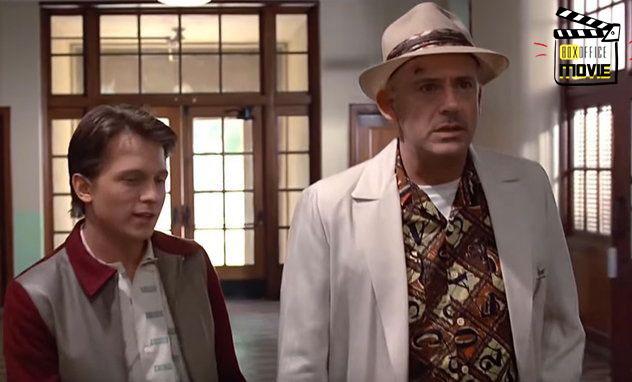 จะเป็นยังไง? เมื่อ Robert Downey Jr. และ Tom Holland เล่นกลับสู่อนาคต